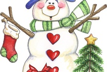Snowman / by Kathryn Gamble
