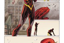 Wally west and iris