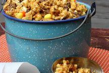 recipes / popcorn / homemade popcorn recipe -- popcorn snack recipes -- party popcorn / by Hoosier Homemade