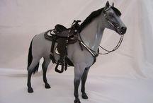 Модели лошадей.Передел,перекрас / переделанные в той или иной степени Breyer, schleich и прочие