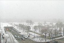 Paris sous la neige / Mieux qu'un poème de Maurice Carême.