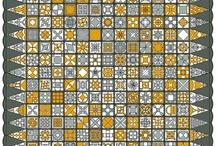 Quilts - Dear Jane, Farmer's wife