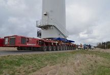 Windturbine / Transport