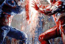 capitan america vs aironman