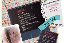 El taller manualidades / Trabajos de manualidades realizados en nuestros talleres por las alumnas