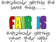 equity and fairness
