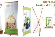 Bunner e Roll up pubblicitari / Espositori - Roll up dimensione e materiali diversi.