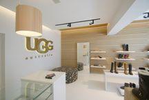 Showroom & kantoorvloeren / Strakke gietvloeren voor een professionele look in de showroom of op kantoor!