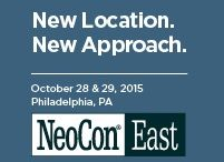NeoCon East 2015 / The Premier Design Expo and Conference for Commercial Interiors on the East Coast Now in Philadelphia!