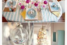 gorgeous table settings / by Sara Rivka Dahan
