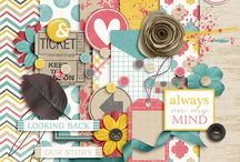 Digital Scrapbooking Ideas / by Angie Newton
