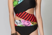 Bathing Suits I'd Tolerate / Lawd knows I hate bathing suit shopping and I don't love getting in one either. But these beauties are a few I might consider.