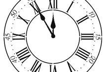 papier -zegar