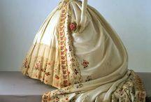 Vintage dress making