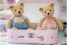 TEAROOM Bears... / Small Bear Knitting Patterns