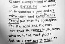 det enda. / det handlar om Jesus.