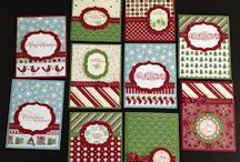 Christmas Stampin' Up! Style / Christmas cards, mainly / by Janice Lunsford