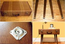Suitcases / by Amy H