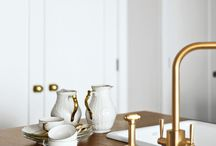interior | gold & marble