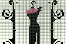 Cross Stitch-Boudoir
