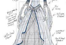 Σχέδια γυναικείων φορεμάτων ANIME
