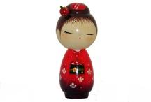 Kokeshi & Momiji Dolls