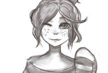 MY ART /  SKETCH / Moje rysunki