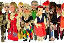 Pro deti / Speciální kategorie obsahující: loutky, marionety, hračky atd.