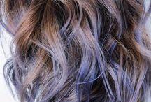 Cool dyed hair