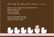 Baby Shower/Sprinkle Party / by Michelle Rawlings