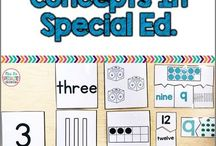 Special needs teaching resources