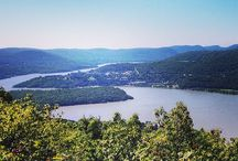 {Cold Spring & Garrison} NY / Cold Spring, New York is located along the banks of the Hudson. Picnic on the water, hike the parks and mountains, then treat yourself to gourmet eats at any Main Street restaurant. Garrison is right next door, with more astonishing views of ideal country. #hvcompass #hudsonvalley