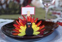 Thanksgiving / Fall - Decor & Crafts