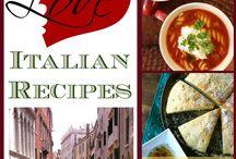 Italian recept / Italiensk cusine