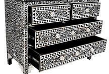BONE INLAY FURNITURE / BONE INLAY FURNITURE will surely add richness and regal touch to your over all home decor.