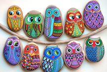 piedras y buhos