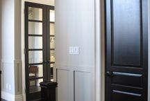 Colored Doors, colored trim... anything but white!