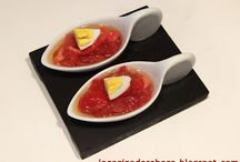 Recetas de aperitivos y entrantes / Recetas de cocina de platos para picar, para servir como aperitivos o como entrantes de una comida o cena | Appetizer recipes