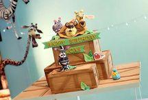 Madagascar / Inspiration for children party