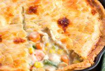 Chicken pot pie/ Martha Stewarts