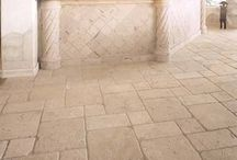 Stone flooring / Travertine