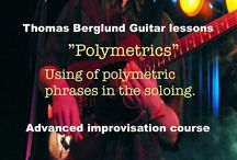Lessons (improvisation course) / Guitar lessons from my improvisation course on YouTube.
