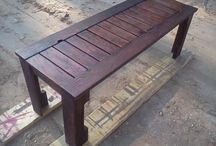 Outdoor Bench From Pallets 1