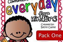 Kindergarten writing / by Krystal Parsons Gatliff