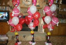 Valentine's Day Balloon Decor / Love is in the air and balloon will fill anyone's hearts with joy.  Want more? Visit www.balloonsbytommy.com