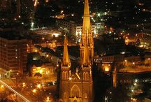 city lights / Words - night,  lights,  lively