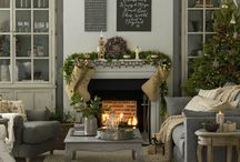 Magnificent Mantles / Love these ideas for creating a gorgeous mantle for your holidays!