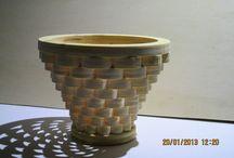 CESTINI / Cestini portaoggetti in legno