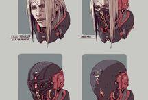 cyberpunk char