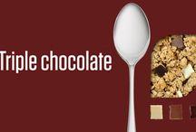 Triple Chocolate Granola / Everything Yummy about our triple Chocolate Granola